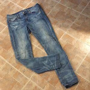 American Eagle skinny jeans size women's 10